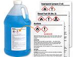 Preprinted GHS Labels