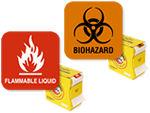 Chemical Label Dispenser
