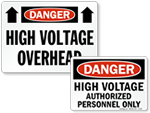 High Voltage Signs