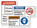 Custom ANSI Safety Labels