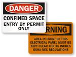 OSHA Labels | OSHA Safety Labels
