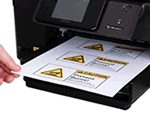 Blank Laser Printer Labels