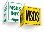 MSDS Signs