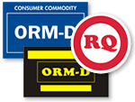 ORM Labels comply with Restricted Articles Tariff 6-D.