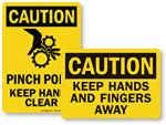 Keep Hands Clear
