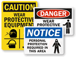 PPE Signs | Personal Protection Signs