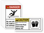 ANSI Safety Labels