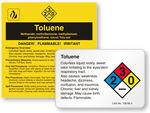 Toluene Labels
