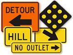 Road Warning Signs