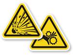 ISO Warnings Stickers