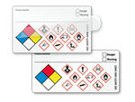 Write-On GHS and NFPA Combo Label