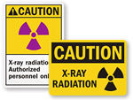 X-Ray Radiation Labels