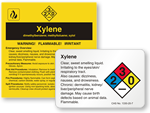 Xylene Labels