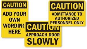 OSHA Caution Labels