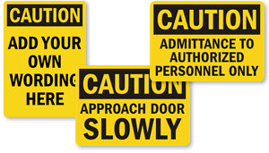OSHA Caution Labels