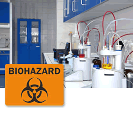 Biohazard Graphic Sign