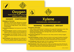 O-Z Chemical Labels