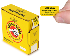Choking Hazard Labels