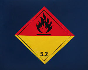 Class 5 Organic Peroxide I.A.T.A. Blank Labels