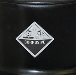 Class 8 Corrosive Hazmat Labels