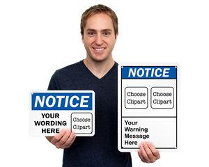Custom Notice Labels