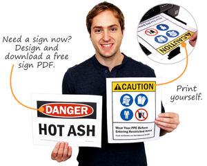 Download free safety signs