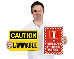 Fire Hazard Labels