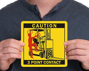 Forklift Labels