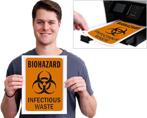 Free Biohazards Labels & Signs