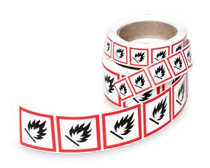 GHS symbol labels