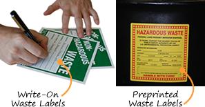 Hazardous Waste Labels