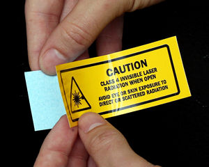 Lasers Safety Labels