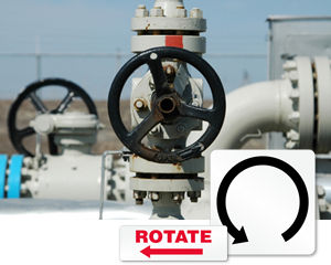 Machine Rotation Labels