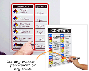 Magnetic Chemical Labels
