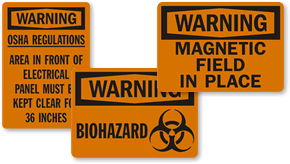 OSHA Warning Labels