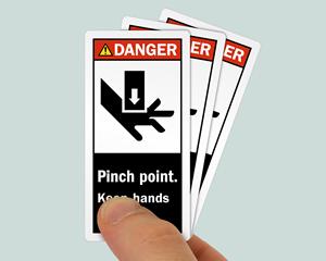 ANSI Danger Sign: High Voltage