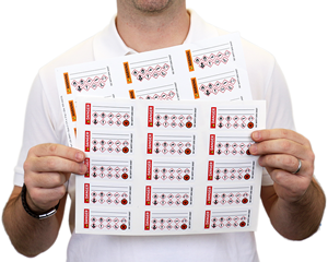Secondary GHS labels