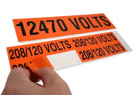 Voltage Labels and Voltage Markers