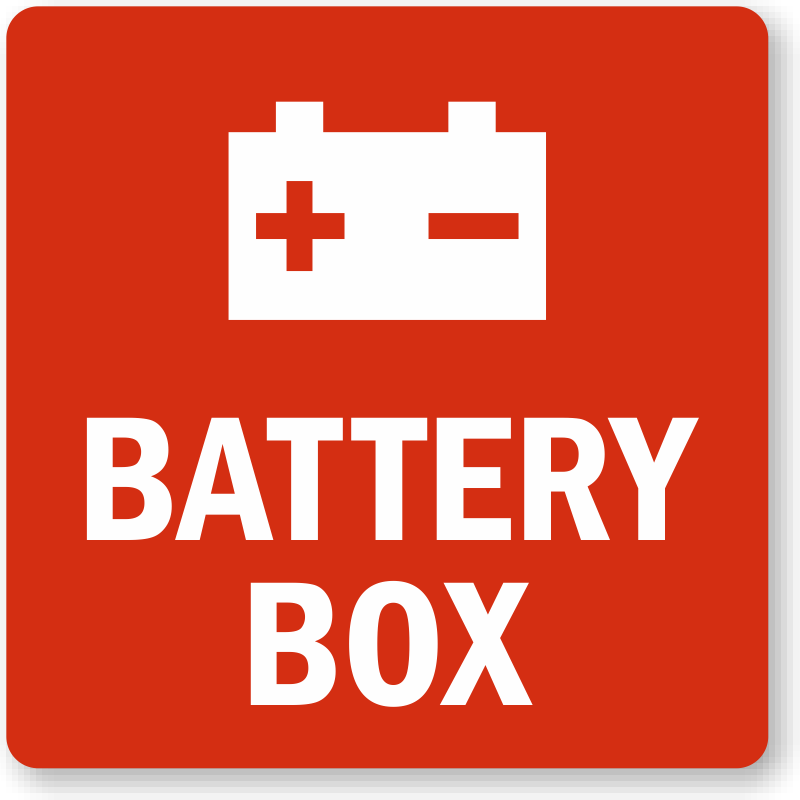 Buy Battery Warning Labels Made Of Best Of Materials