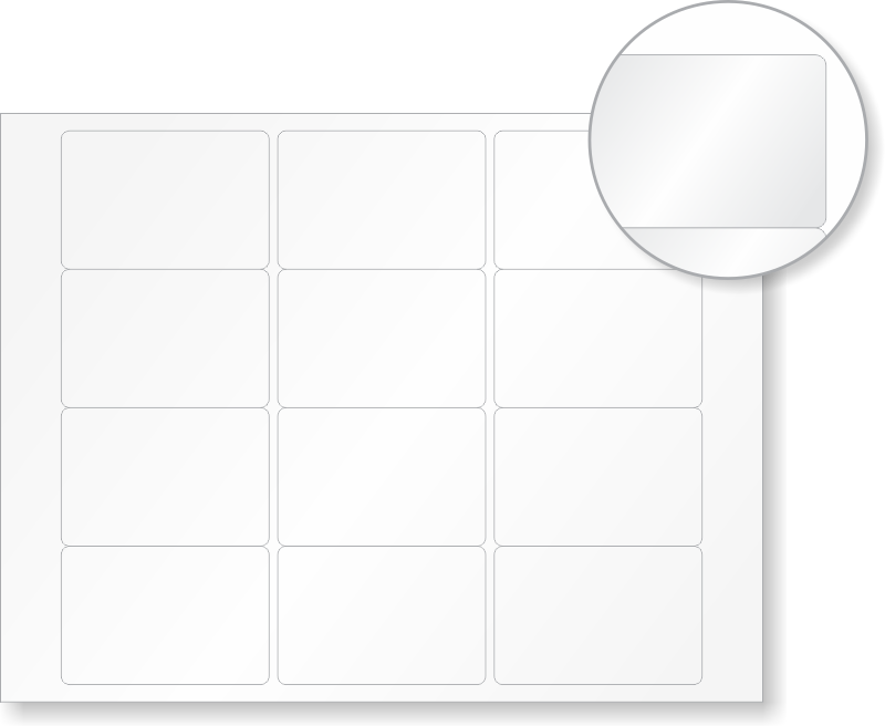 blank laser printable label sheets  2in  x 3in  labels
