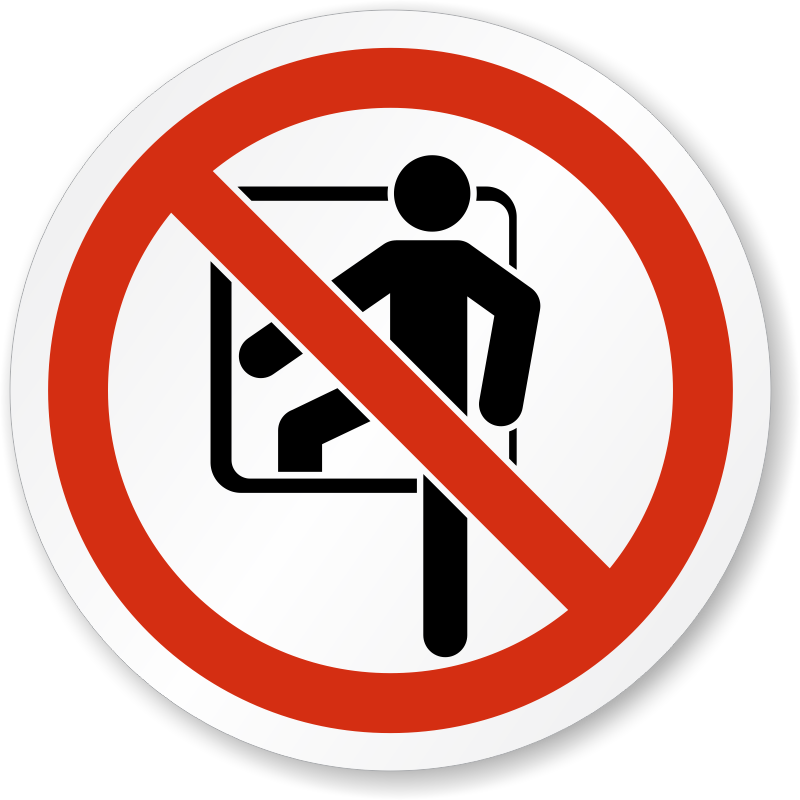 Iso Prohibited Actions Labels Prohibition Symbols
