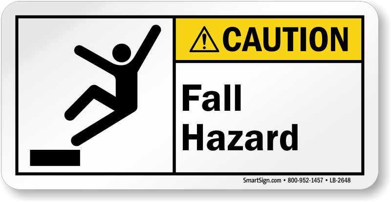 Watch Your Step Labels Slip And Trip Hazard