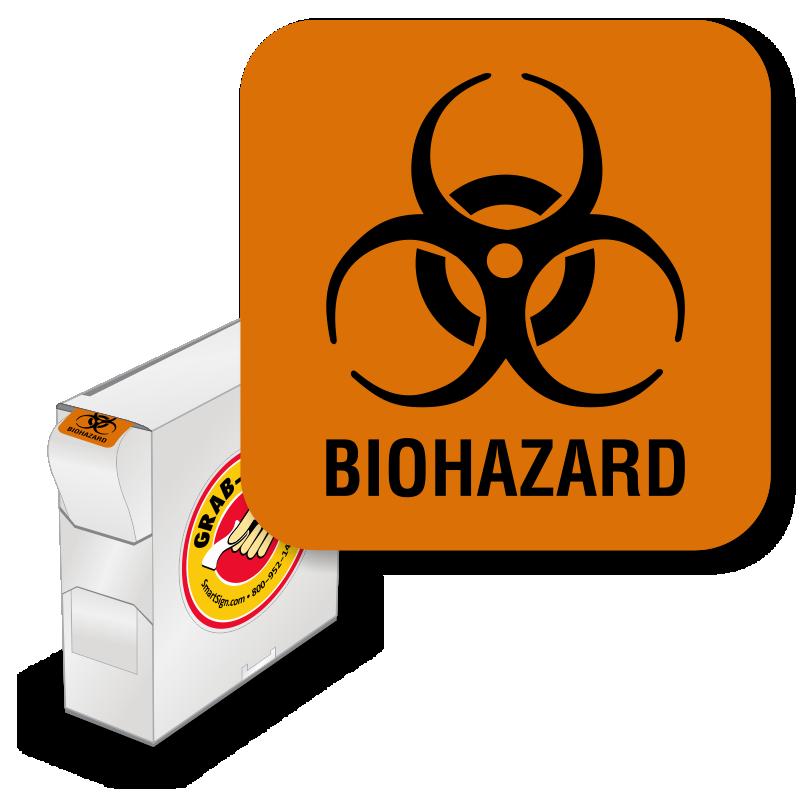biohazard stickers biohazard labels
