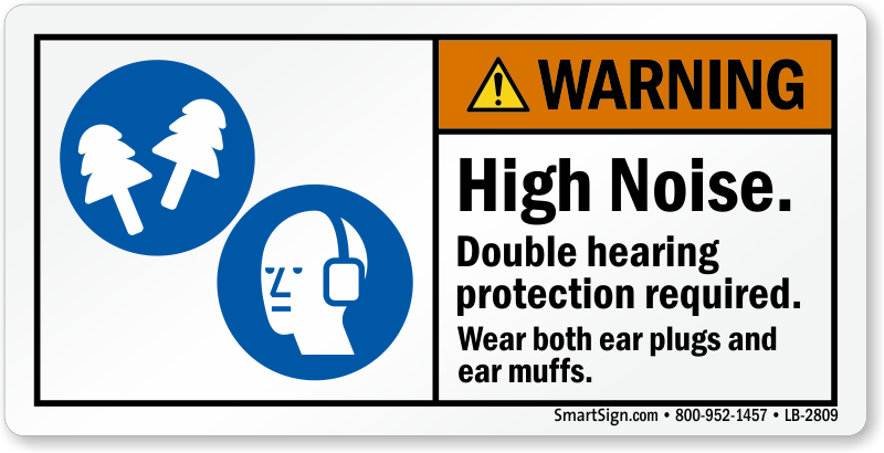 Hearing Protection Labels