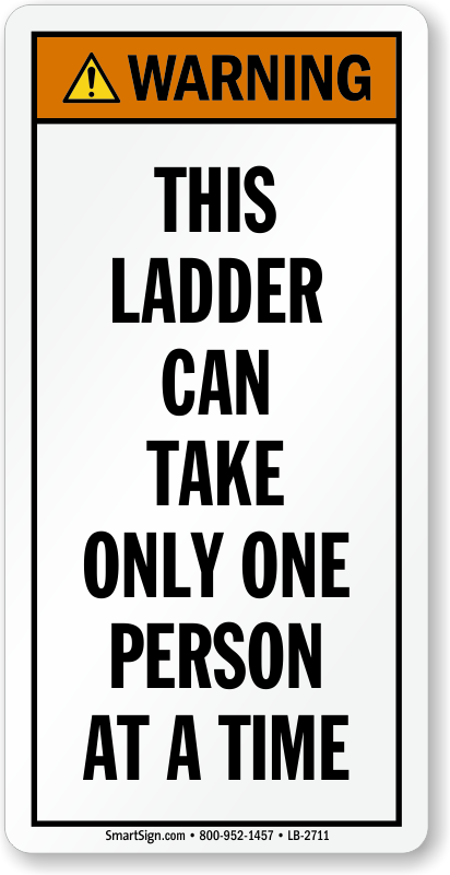 ladder safety and warning labels affordable yet durable