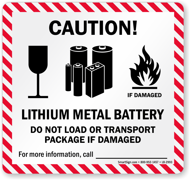 Lithium Battery Handling & Mark Shipping Labels