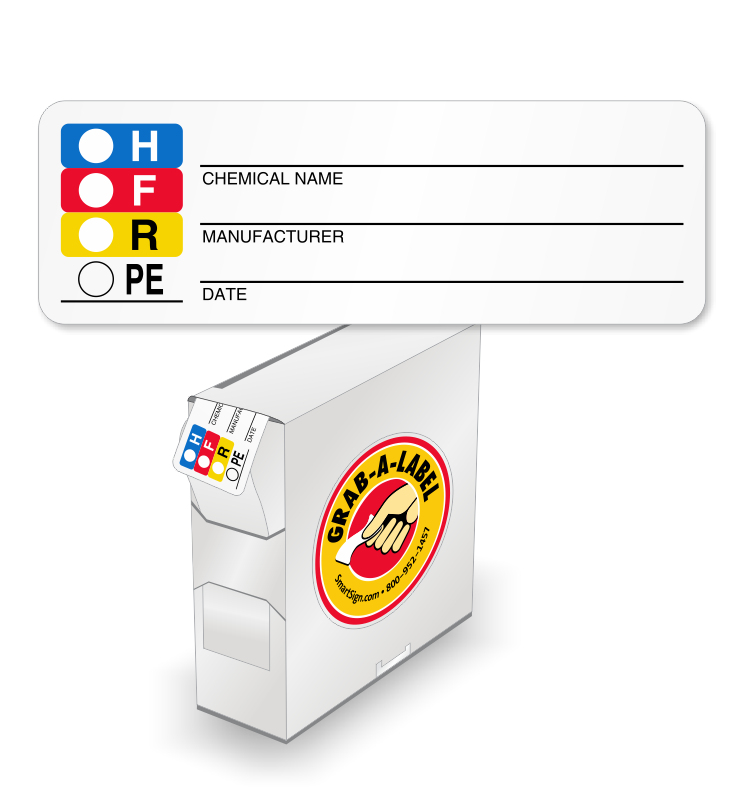 HMIS And HMIG Labels Find Customizable Templates - Osha secondary container label template