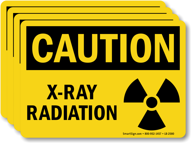 microwave mri xray radiation labels