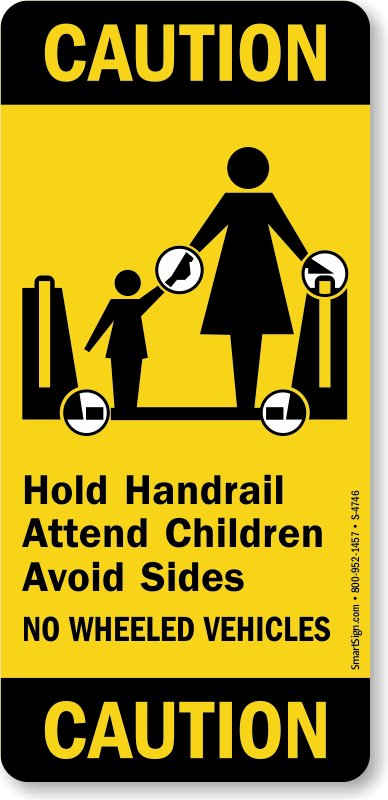 Escalator And Elevator Safety Labels Free Pdf