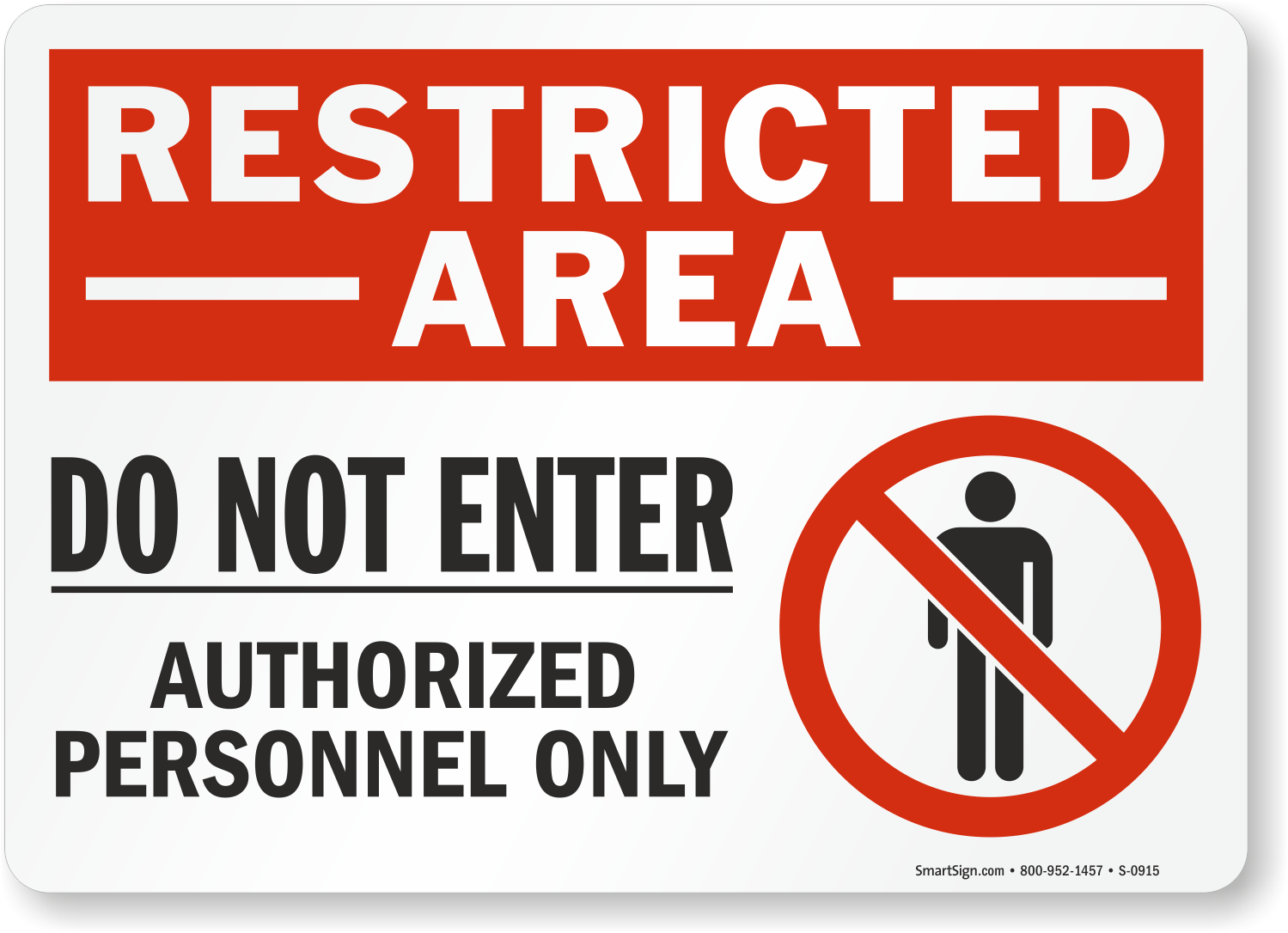 Restricted Area Labels Authorized Personnel Free Pdfs